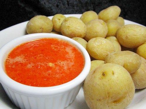 Kanarische Kartoffeln mit Mojo - Sauce