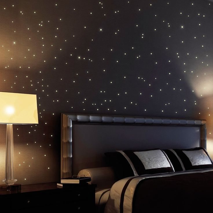 BUY 2 OF 255 fluorescent stars and dots for a starry sky - wall sticker stars and dots shining and glowing in the dark: Amazon.co.uk: Kitchen & Home EACH Sale:£13.90 & FREE UK delivery