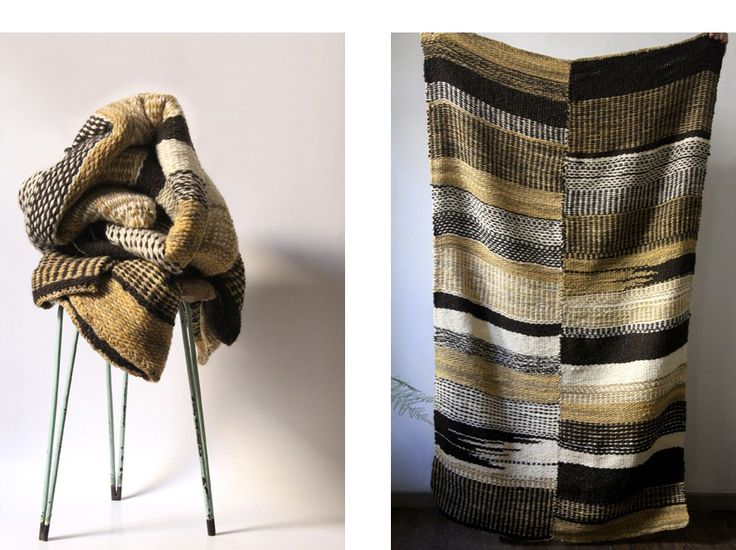 hand woven blanket by nido
