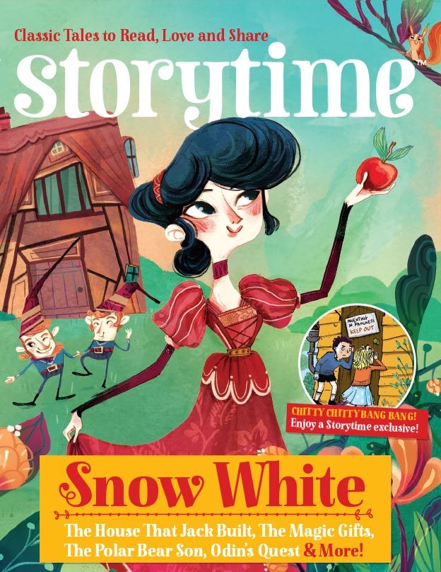 Hooray for Issue 16! Featuring Snow White, The House That Jack Built, Chitty Bang Bang & more! ~ STORYTIMEMAGAZINE.COM