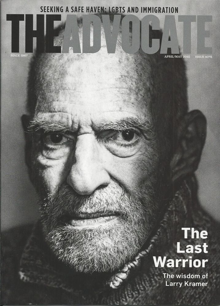 The Advocate gay magazine Larry Kramer LGBTS Immigration Malaysia Airlines 17