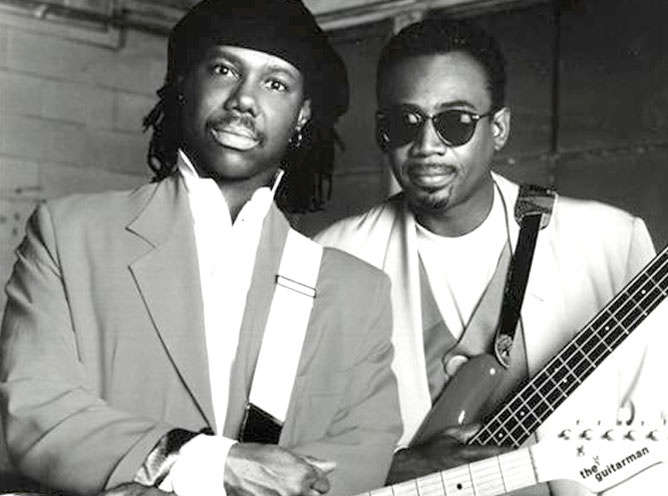 Me and 'Nard on our #CHIC-ism promo tour - @BernardEdwards passed