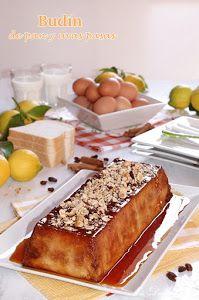 MIS DULCES JOYAS nos muestra una receta sencilla, económica y de aprovechamiento. ¿Te vas a perder este exquisito budín de pan y uvas pasas? ¡Yo no!