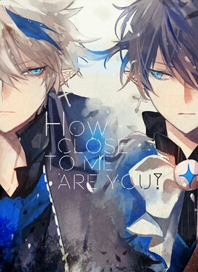 Image de anime art, elsword, and ciel<<< This looks like a yaoi cover XD BUT IT'S SO COOL