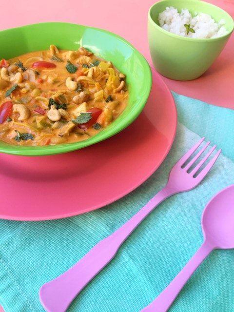 Koolhydraatarm Curry Recept: Pittige Kip met Prei & Cashewnoten