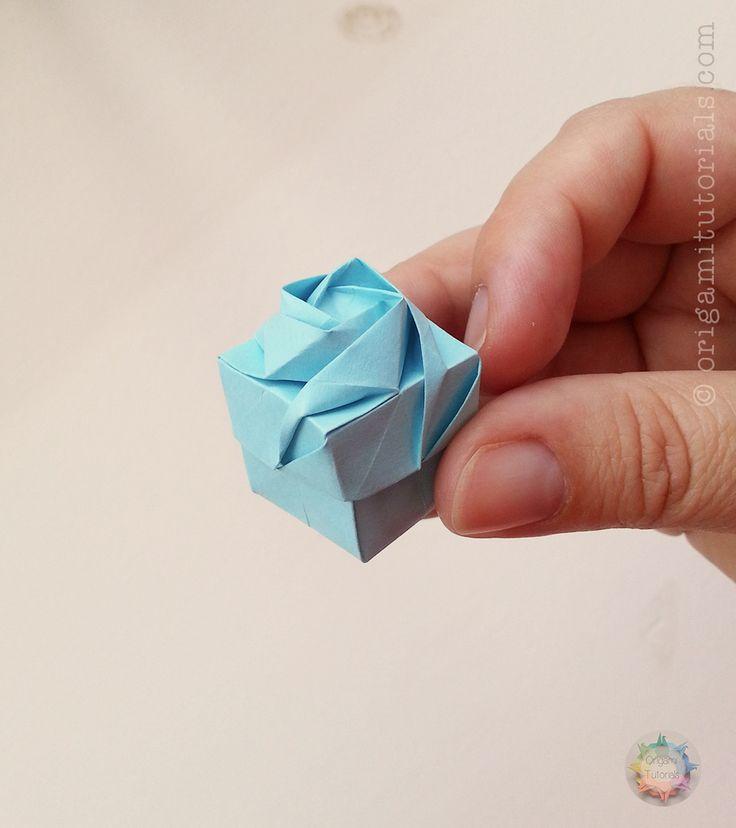 Origami Rose Box Instructions
