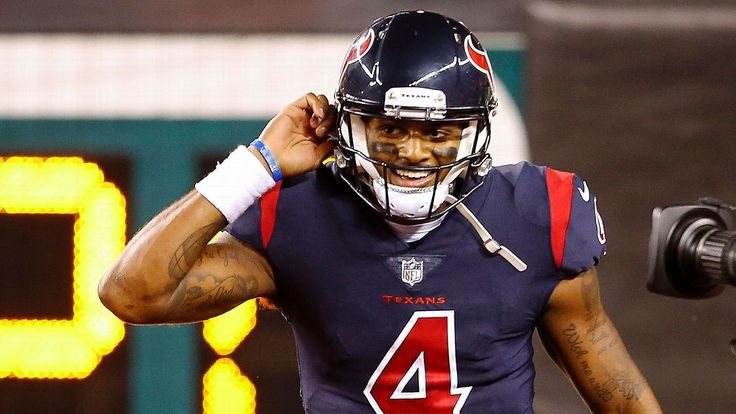 Watson gives 1st pay check to Texans workers #FansnStars