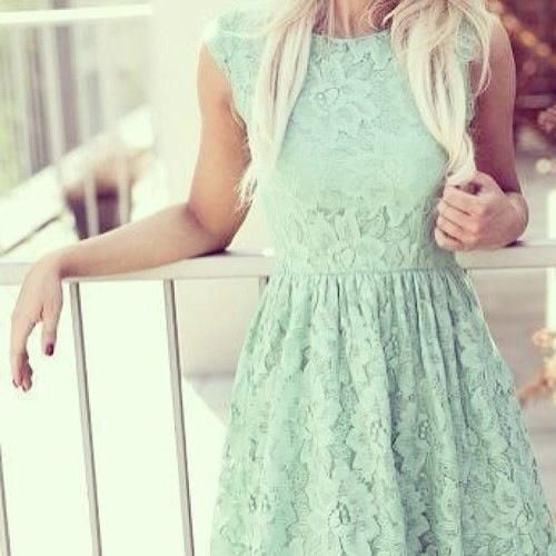 Minty lace (Source: weheartit.com)