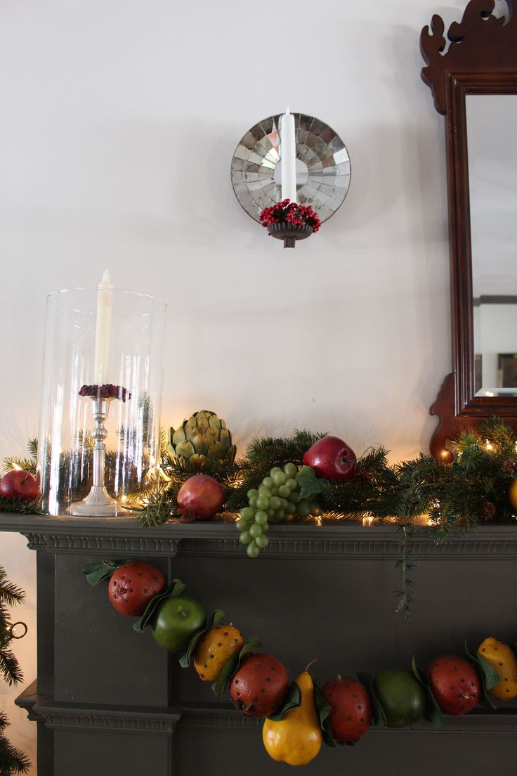 298 best christmas images on pinterest pineapple simple for Colonial home christmas decorations