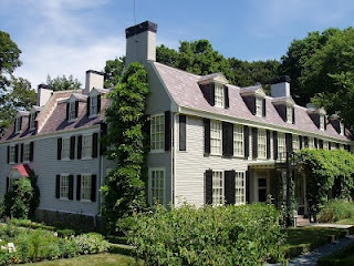Peacefield, John Quincy Adams House, Quincy, Massachusetts, 1731 & later.