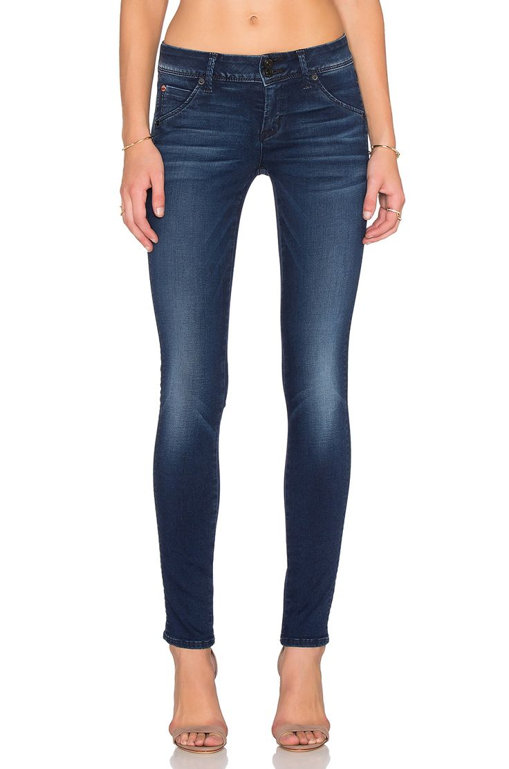 Hudson Jeans Collin Skinny in Contrary Wash