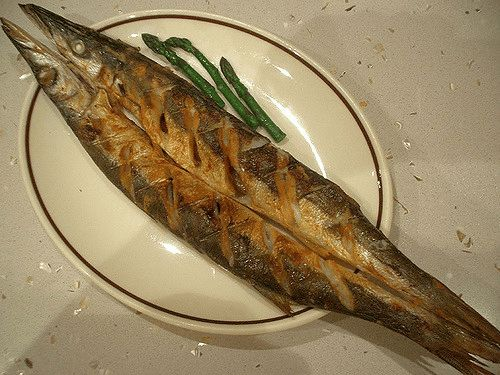 Garlicky Grilled Pike Recipe :-)