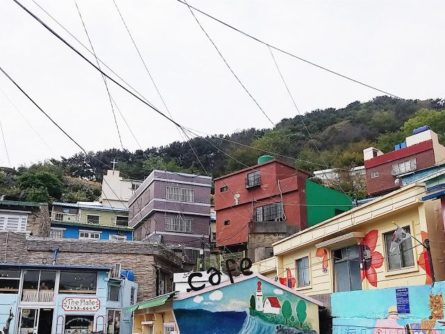 Unique Cafes at Gamcheon Cultural Village :)  #Gamcheon #Busan #Southkorea