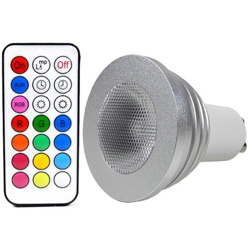 New MENGS GU W LED RGB Lampe Birne SMD LEDs LED farbwechsel Strahler Licht Leuchtmittel mit