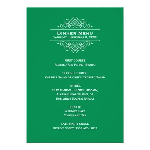 Best 25+ Wedding dinner menu ideas on Pinterest Country wedding - dinner menu