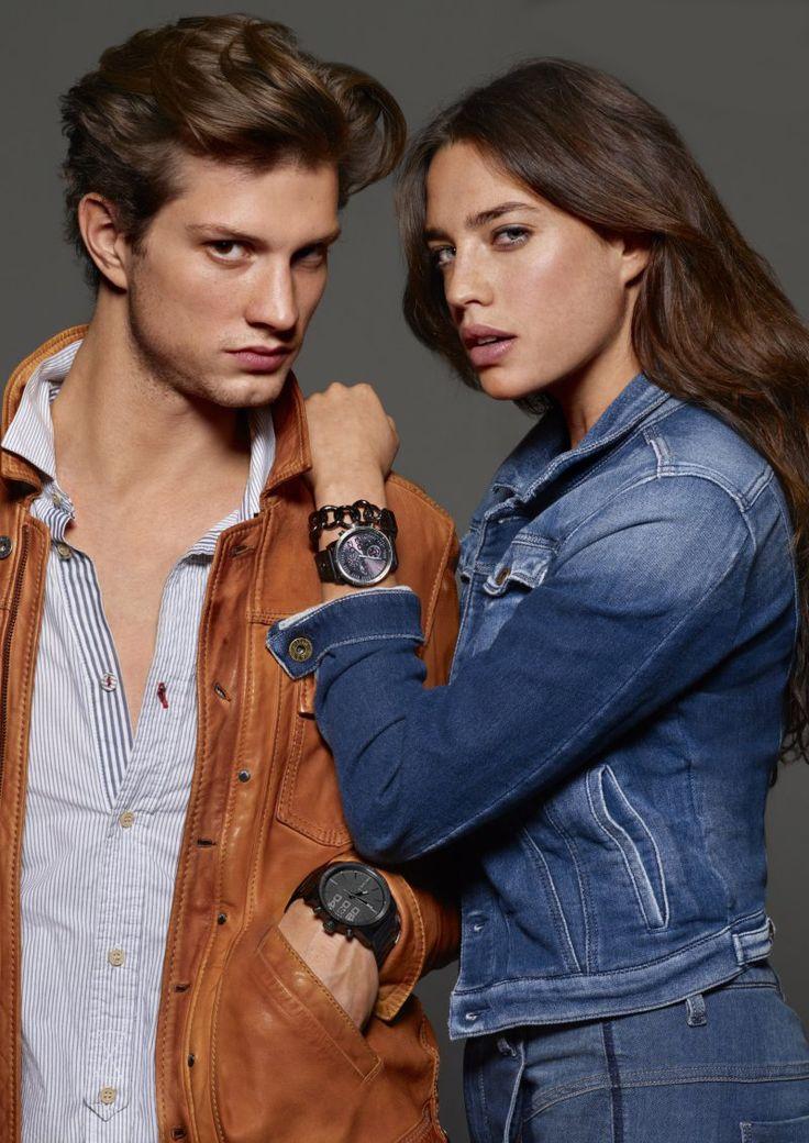 Timeless anspre- Diesel Werbekampagne, Anstrahlung ihre Uhren.