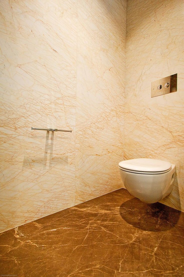 Golden Spider Bathroom Walls with Maron Venus Bathroom Floor Supplied and Installed by Euro Marble