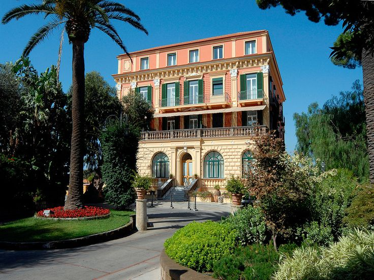 Readers' Rating: 82.908This 1834 family-owned property is located in Sorrento's bustling historic center, yet feels like a private, leafy oasis. Rooms are designed in styles ranging from Pompeian to Victorian, with trompe l'oeil walls, parquet floors, and gilded mirrors. Terrazza Bosquet serves Neapolitan dishes using ingredients from the hotel's own garden