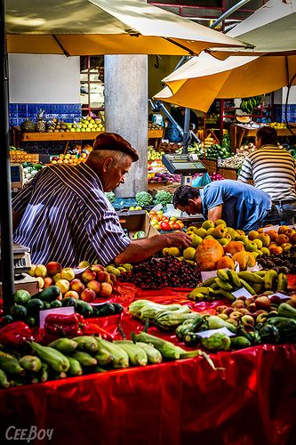 Market, Funchal, Madeira, Portugal