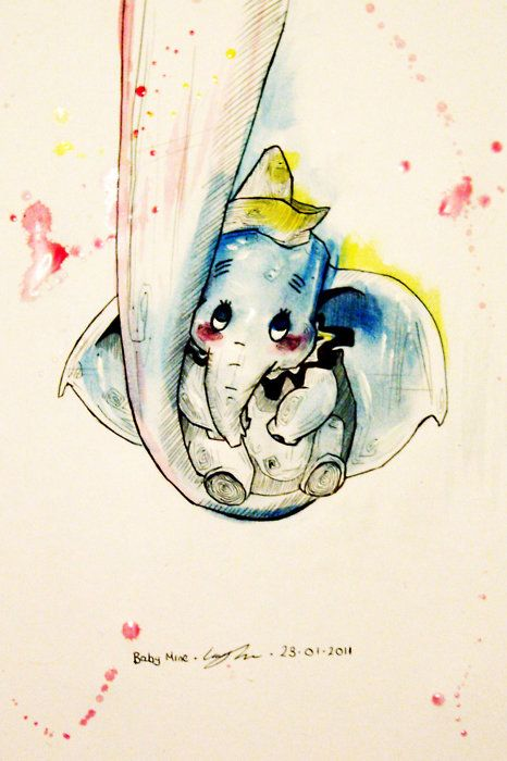 This is so sweet yet so sad. Dumbo seriously tramatized me when I was lil..well not just when I was little. :(