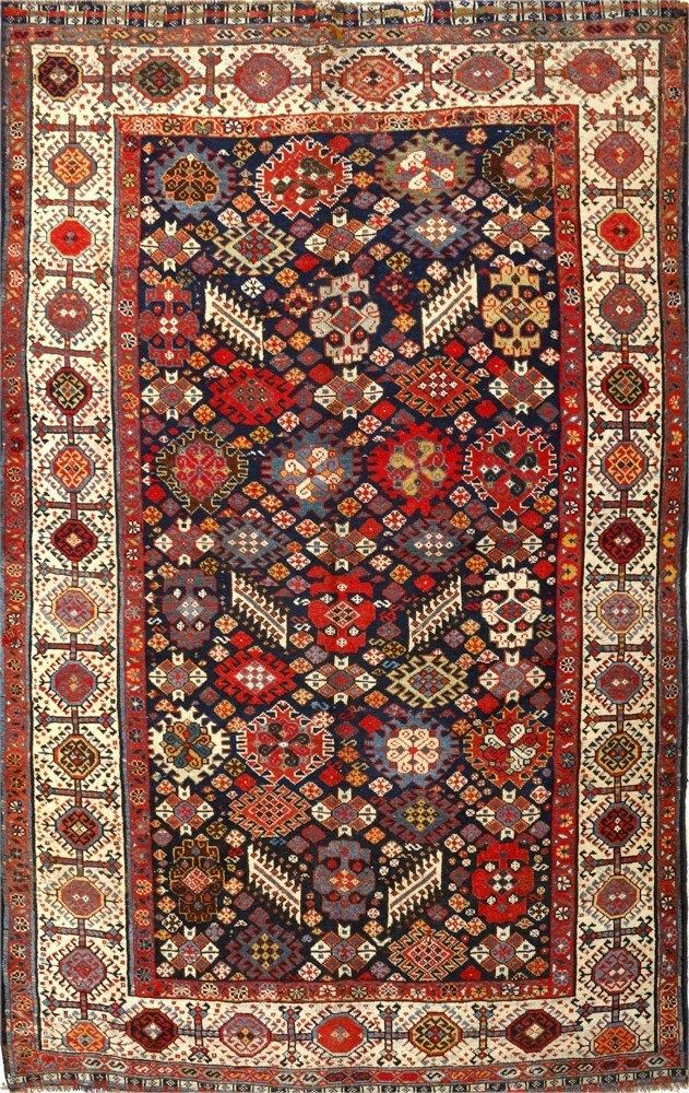 Persian Qashqai rug Tappeti antichi, Tappeti persiani
