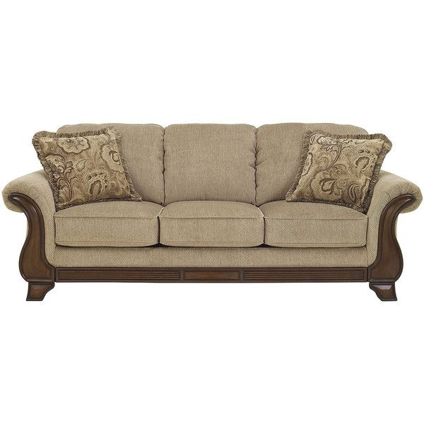 home furniture sofa designs. signature design by ashley lanett sofa 700 liked on polyvore featuring home furniture designs