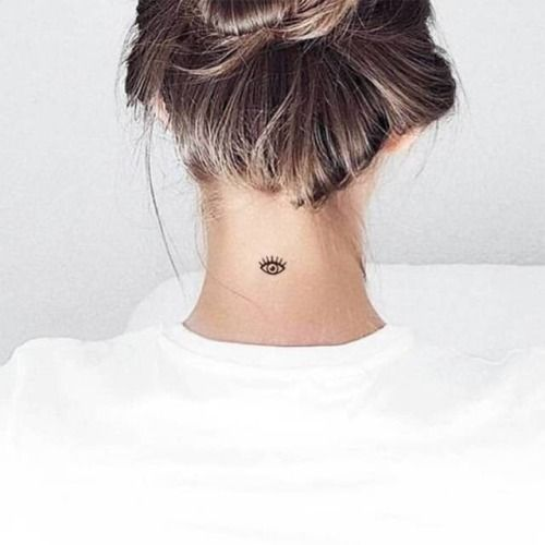 30 Sexy And Simple Back Of Neck Tattoo Designs You'll Like – Page 22 of 30