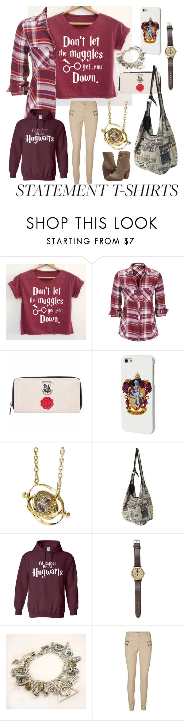 """harry potter"" by breedeevee on Polyvore featuring Hot Topic, Ultimate, Vero Moda and Sbicca"