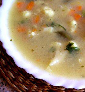 Prosta i lekka zupa jarzynowa | Zdrowe Przepisy Pauliny Styś