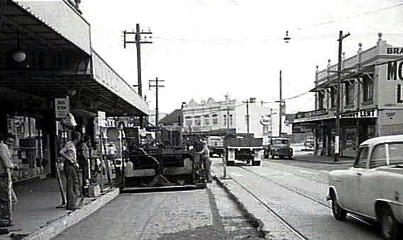 Botany Road toward Henderson Road.1965