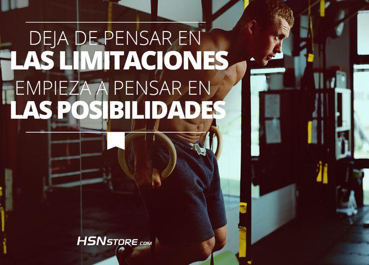 Empieza a pensar en las posibilidades #fitness #motivation #motivacion #gym…