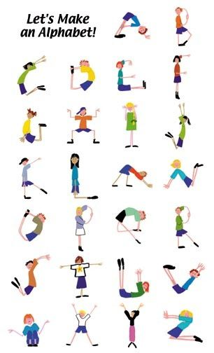Body alphabet