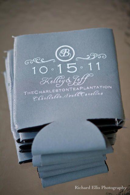 662 best Wedding Koozies Ideas images on Pinterest | Wedding koozies ...