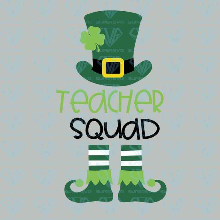 Download Teacher St Patrick's Day SVG Files For Silhouette, Files ...