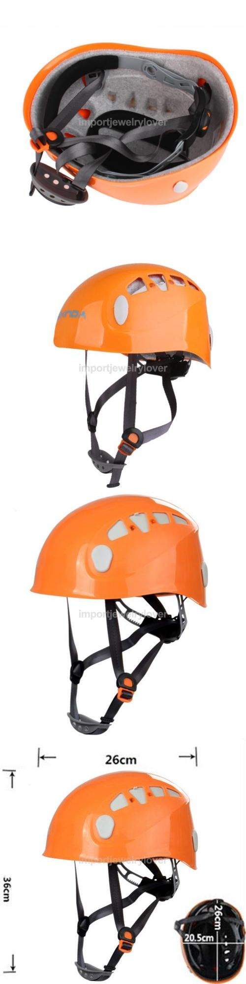 Other Climbing and Caving 1299: Rock Climbing Mountaineering Caving Rappelling Protector Helmet Safety Gear -> BUY IT NOW ONLY: $33.99 on eBay!