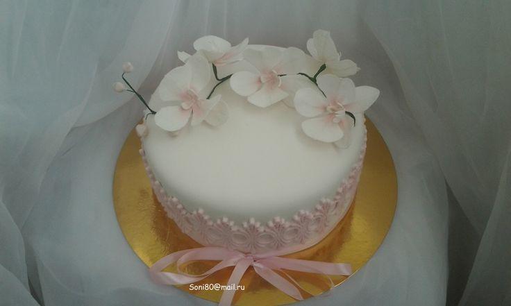 """""""Орхідеї"""" #торт_на_заказ_тернополь #юбилейные #бисквитный_торт #шоколадный_торт #комбинированный_торт"""