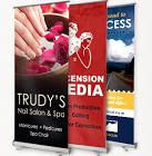 """Personalized Retractable Banner Stands - 78""""x33"""""""