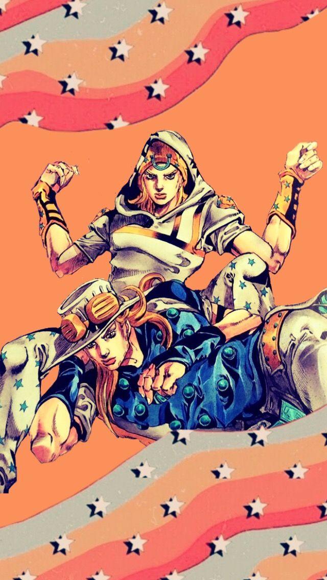 Gyro And Johnny Wallpaper Jojo Anime Jojo Bizzare Adventure Jojo S Bizarre Adventure