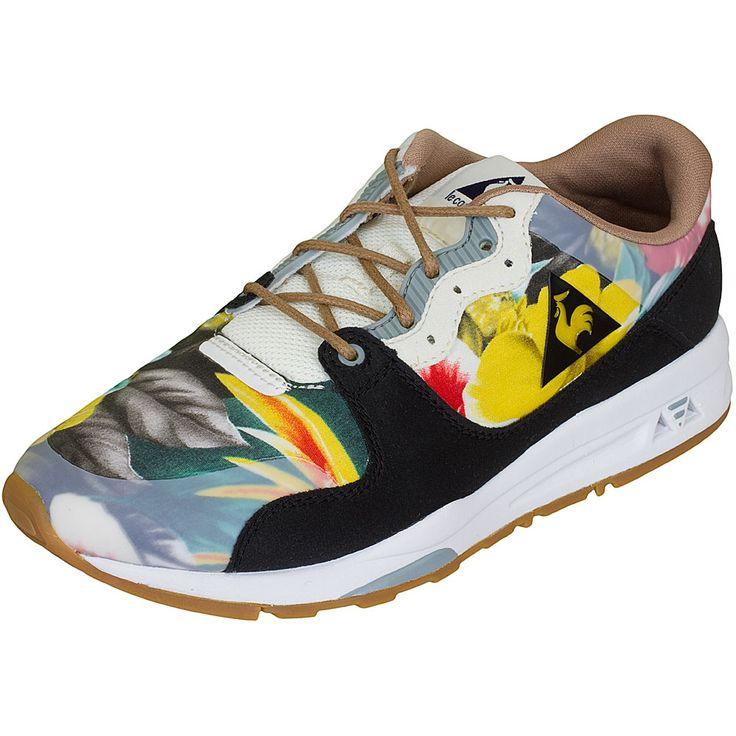 Le Coq Sportif Sneaker LCS R 1400 Tropical Flowers schwarz