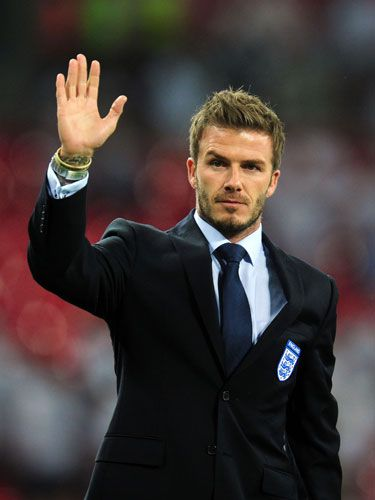 My name is David Beckham.  And I AM A MAN!