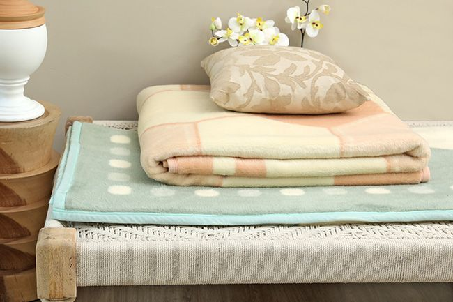 new sesli protea blanket available in pastel colours too