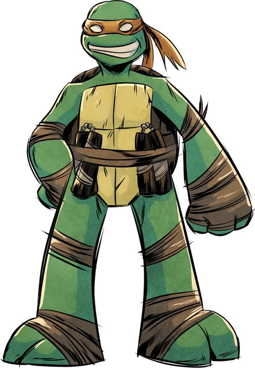 whoismistere:    TMNT Mikey by *angieness