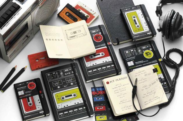Moleskine Limited Edition Audio Cassette Notebooks