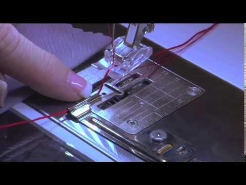 Bernina #39 and cording attachment: Make a scalloped corded edge (video tutorial) ...