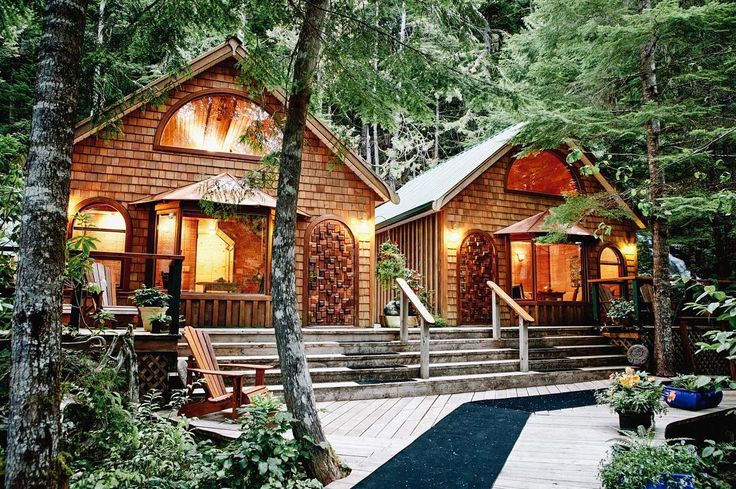 Cozy cabin vibes! #NimmoBay's streamside cabins will have you falling asleep to the sound of the nearby cascading waterfall... by nimmobayresort