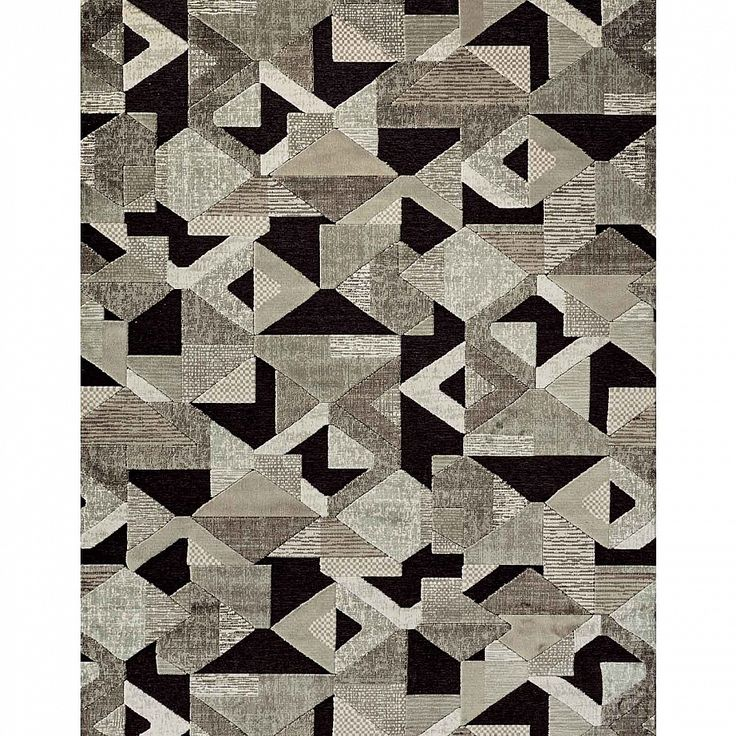 Modern 'Genova IV' Italian multicoloured rug by Sitap