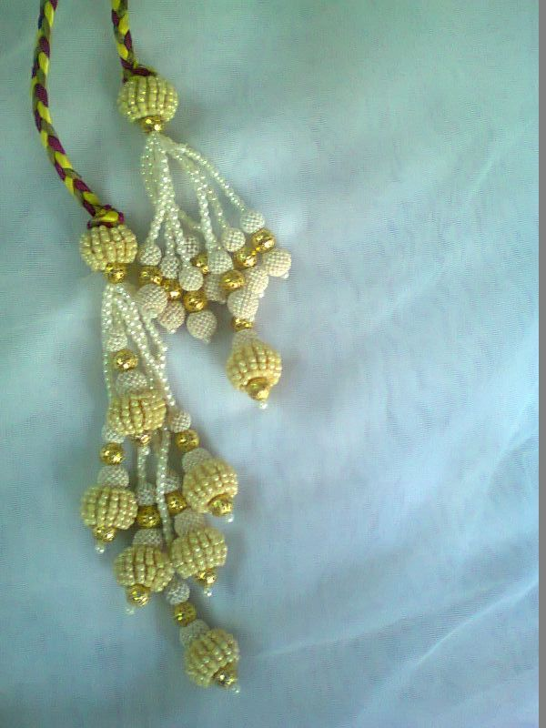 Pearl Latkans #HandmadeCreations