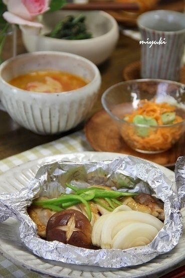 やきとり味・鶏と野菜のホイル焼き。 by miyukiさん | レシピブログ ...