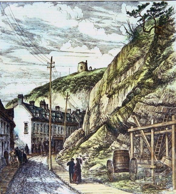 Rue Champlain 1879,