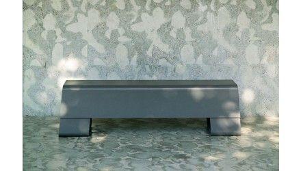 Die Bank, strak design uit Zwitserland, 160cm breed - Banken - Tuinmeubelen - Tuinmeubilair - DeTuinwebshop.nl
